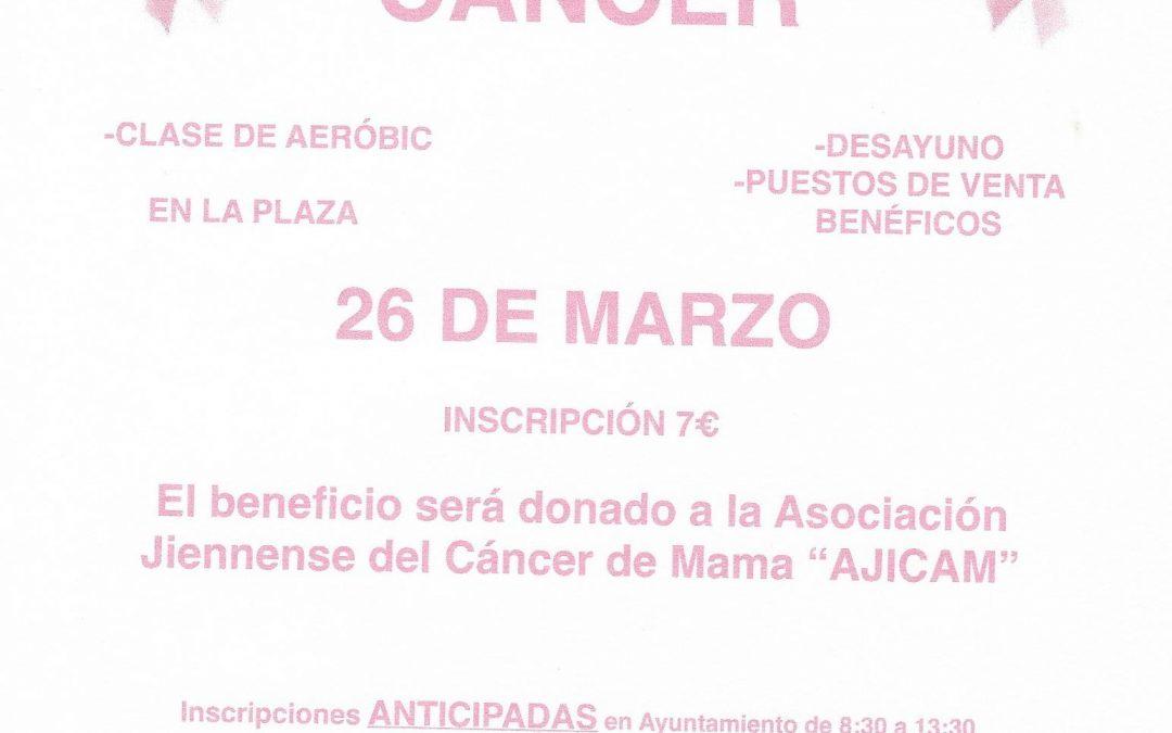 Marcha contra el cáncer en el municipio de Noalejo
