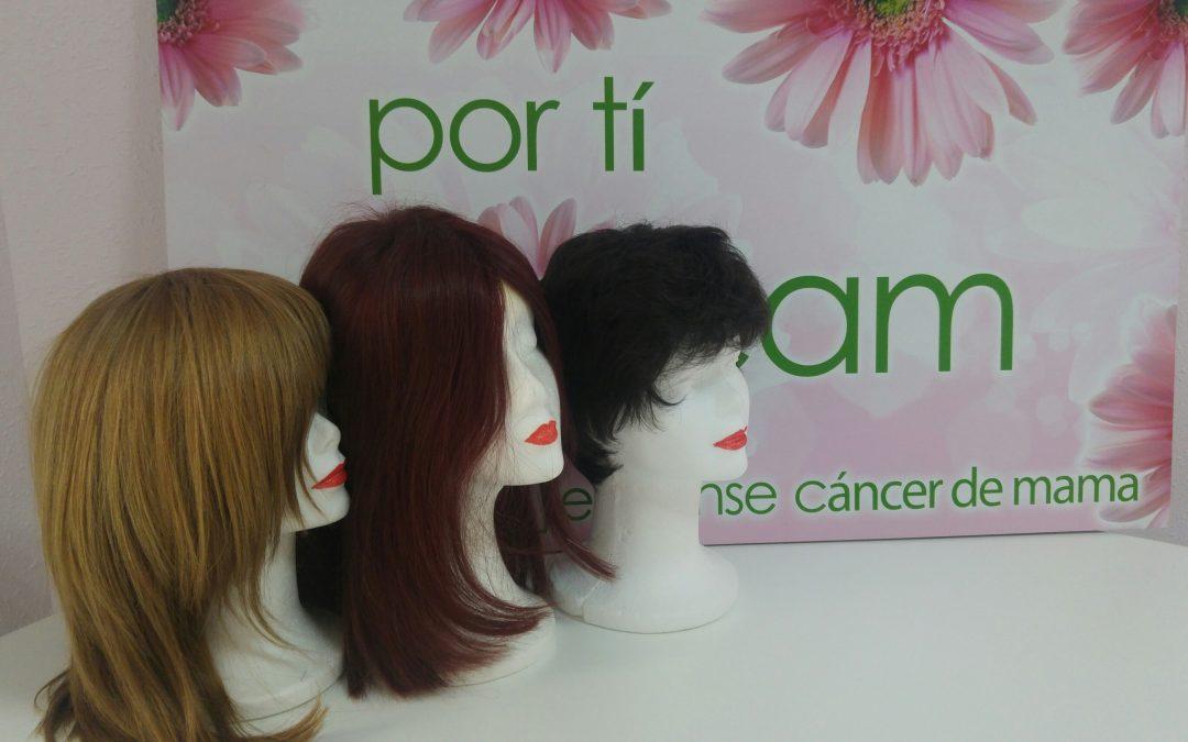 Adquisición de 3 pelucas nuevas para el Banco de Pelucas de ajicam gracias a la Cofradía del Santísimo Cristo de la Fe y del Consuelo de Martos